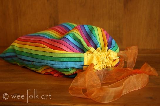 drawstring gift bag pattern