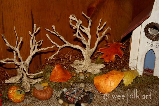 Paper Bag Gnarly Trees Wee Folk Art