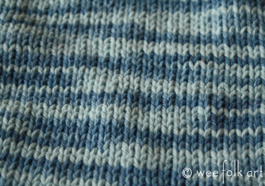 Newbie Knitting Knit Purl Wash Clothes Wee Folk Art