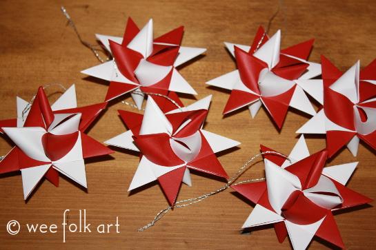 German Stars Wee Folk Art