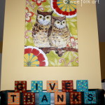 GIVE THANKS Wooden Blocks