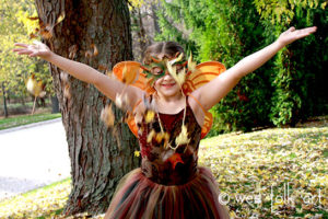 Autumn Fairy Necklace and our Fairies at the Faire