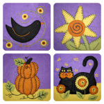 October Applique Blocks