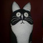 Kitty Cat Doorstop Good to Go