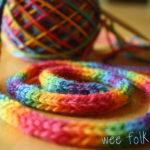 Rainbow Yarn Wallpaper