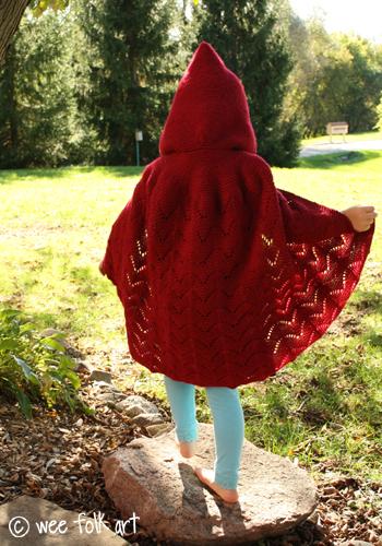 Little Red Riding Hood Cape - Wee Folk Art