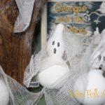 Halloween Desktop Wallpaper Gourd Ghost Sculpture