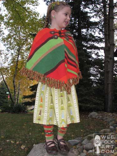 Gnome Fabric Wee Folk Art