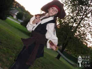 Pirate Shirt and Pirate Vest Unpatterns