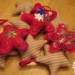 Felt and Stuffed Star Ornaments