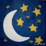 Moon and Stars Applique Block