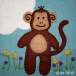 Monkey Madness Applique Block