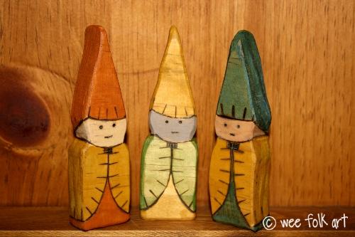 Old World Wooden Gnomes Tutorial Wee Folk Art