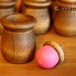 Wooden Acorn Memory Game