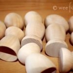 Wooden Eggs and Cups