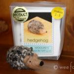 Needlefelted Hedgehog