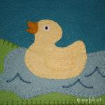 Pond Duckie Applique