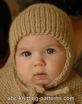 Knitting Patterns For Baby Caps : Free Knit Patterns for Baby Caps - Wee Folk Art
