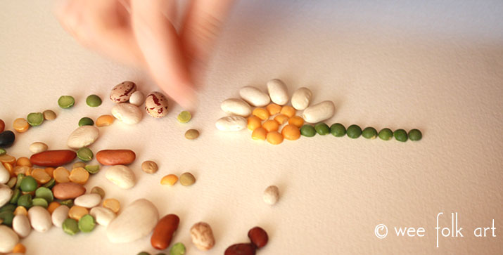 bean mosaic project