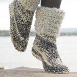 DROPS Design Free Crochet Slipper Patterns