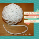 How To Cut T-Shirts To Make Yarn