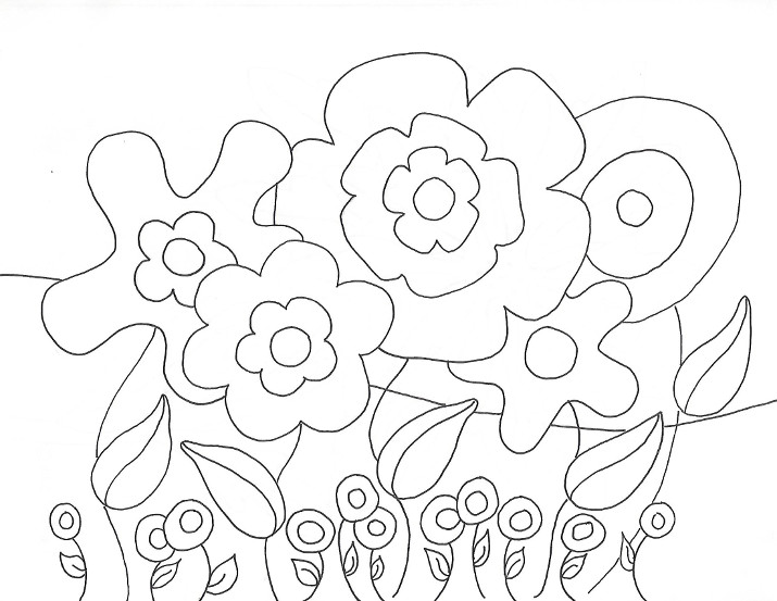 Coloring Pages Archives - Wee Folk Art