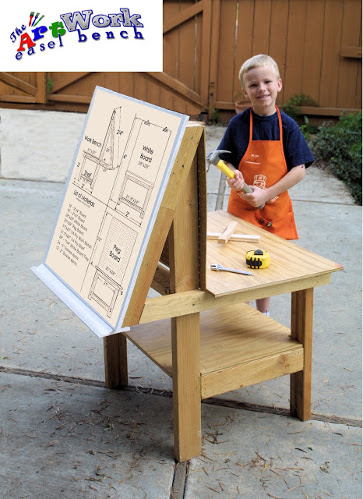 10 Diy Play Real Workbenches For Children Wee Folk Art