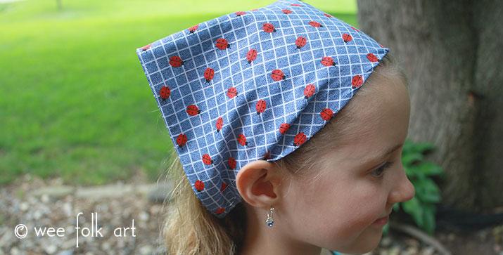 Stretchy Bandana Headband - Wee Folk Art 4caba0e724b