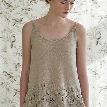 azalea knit tank pattern