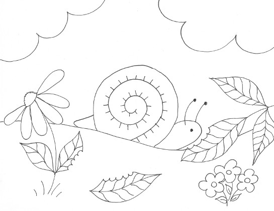 Inchworm coloring page crokky pages az dibujos sketch for Inchworm coloring page