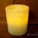 Candlemas Kosher Salt Candle Holders