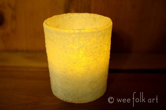 Candlemas Kosher Salt Candle Holders
