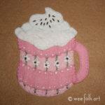 Cup of Cocoa Applique Block