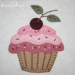 Please With A Cherry On Top Applique Block