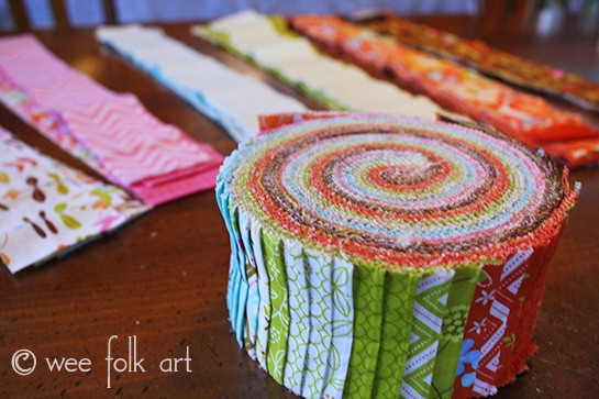 Jelly Roll Race Quilt :: Directions & Notes - Wee Folk Art : jelly roll fabrics for quilting - Adamdwight.com