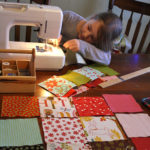 Postcards :: Pixie's First Patchwork Quilt