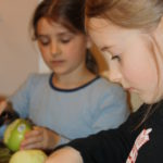 Postcard :: Making Applesauce