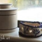 Faux Salt Glazed Pottery