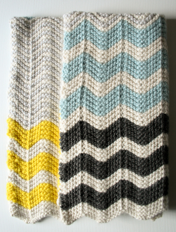 Free Knit Blankets Patterns From Purl Bee Wee Folk Art