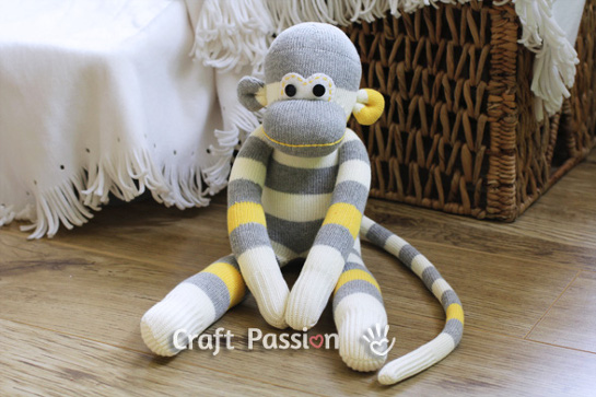 Free Sock Animals Patterns From Craft Passion Wee Folk Art